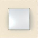 Рамка 3 пост. Unica Quadro Слоновая кость MGU2.706.25, фото 2