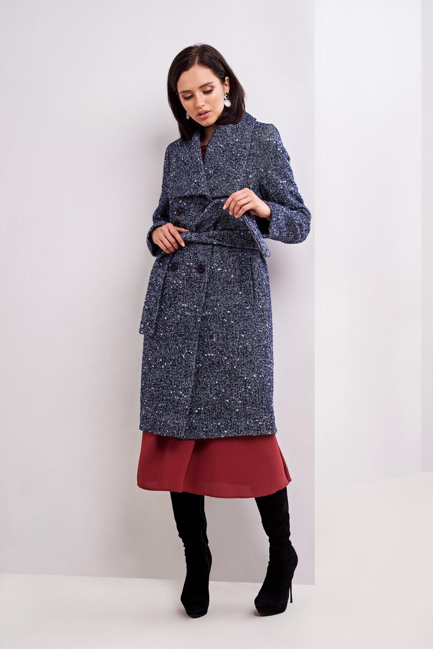 Стильное осеннее пальто  42,44,46
