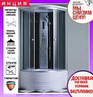Душевой гидробокс 100*100 см Santeh 6907-1 с глубоким поддоном