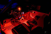 RGB подсветка салона—многоцветная 4х15.