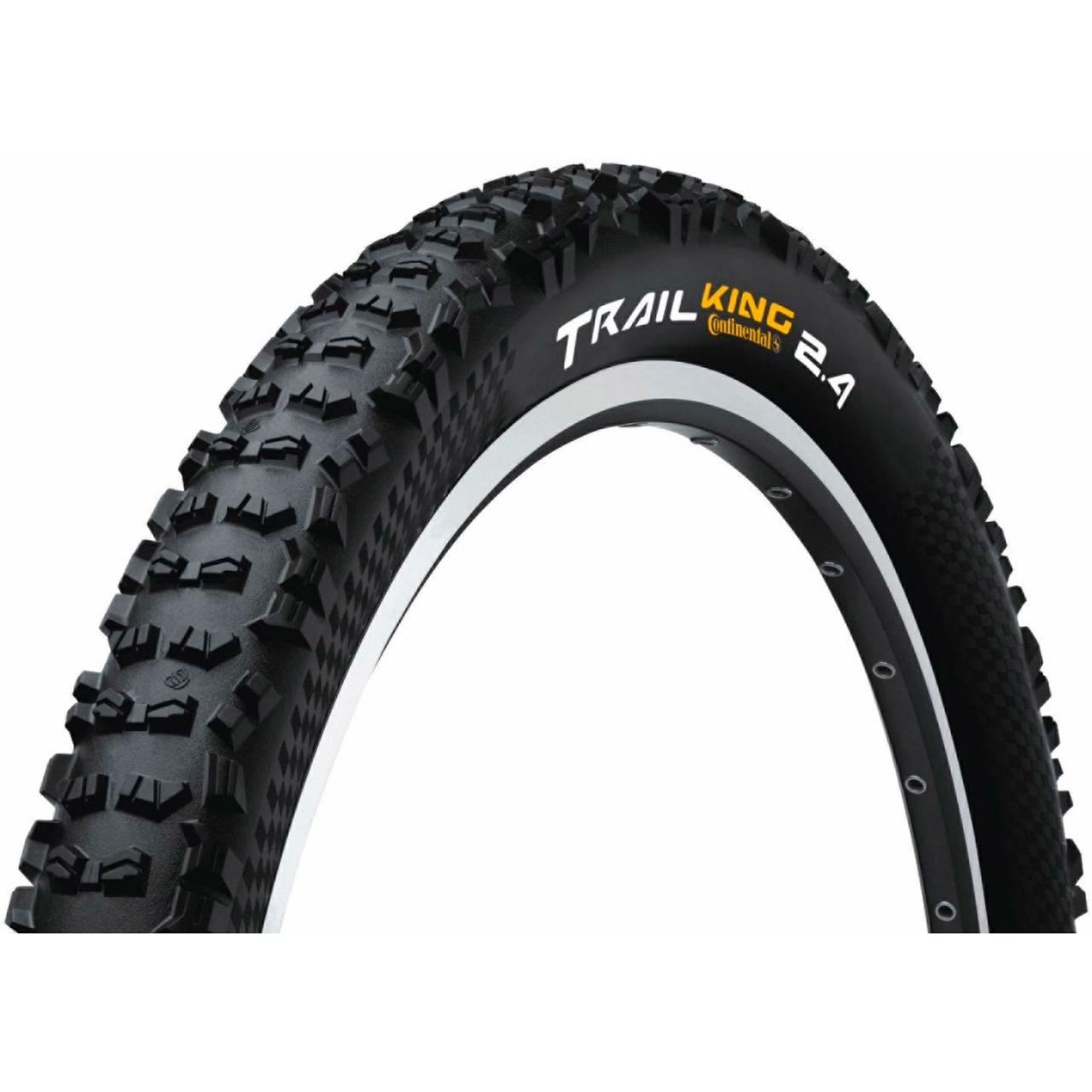 "Покрышка Continental Trail King 2.4, 27.5""х2.40, 60-584, Foldable, BlackChili, ProTection Apex, Skin, 890гр."