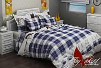 Полуторный комплект постельного белья в разных расцветках
