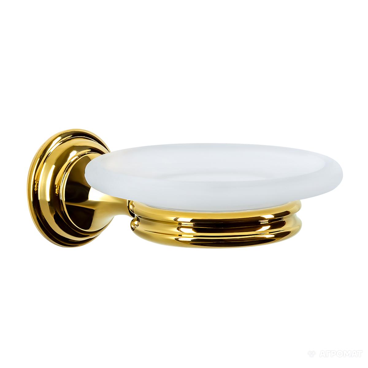 Мыльница Langberger Classic Gold 2112215B-PVDG- , золото