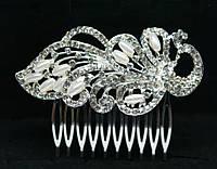 Венок свадебный. Свадебный гребешок с жемчугом, фото от Бижутерия оптом RRR. 180