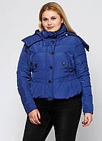 Синяя демисезонная куртка Burberry Brit