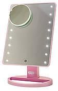 Зеркало косметическое Rotex RHC25-P Magic Mirror Розовый