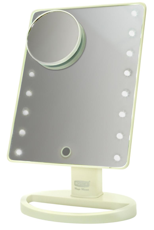 Дзеркало косметичне Rotex RHC25-W Magic Mirror Білий