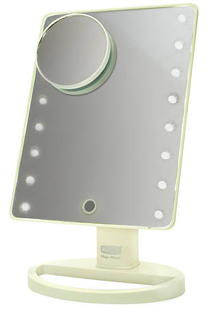 Дзеркало косметичне Rotex RHC25-W Magic Mirror Білий, фото 2