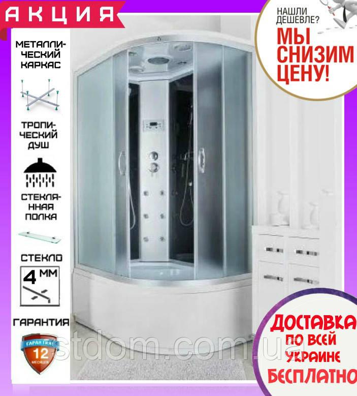 Душовий гідробокс 120*80 см Santeh 69120-L з глибоким піддоном