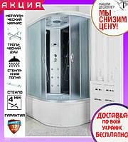 Душевой гидробокс 120*80 см Santeh 69120-L с глубоким поддоном