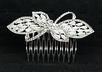 Веночки свадебные. Свадебный гребешок с жемчугом, фото от Бижутерия оптом RRR. 182