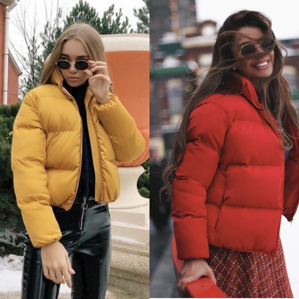 Куртка женская с высоким воротником, матовая плотная плащевка на синтепоне 200,на молнии, стильная, молодежная, фото 1