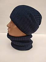 Комплект шапка+бафф