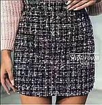 Женская юбка букле (3 цвета), фото 7