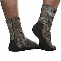 Носки ныряльщика толщиной 9mm, от ТМ Marlin, для использования в холодных водах, камуфляжный цвет