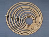 Деревянные пяльцы, диаметр 10,5см