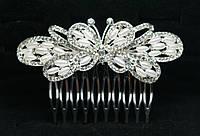 Гребень свадебный бабочка. Свадебный гребешок с жемчугом, фотографии и низкие цены. 185