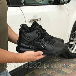 Мужские кроссовки Nike  Air Force 270 Black (черные)