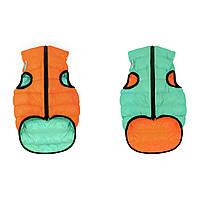 Airy Vest Lumi оранжево-салатовый L65