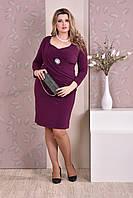 Фиолетовое платье 0191-1 GARRY-STAR