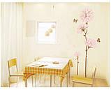 """Інтер'єрна наклейка на стіну """"Квітка"""", фото 3"""