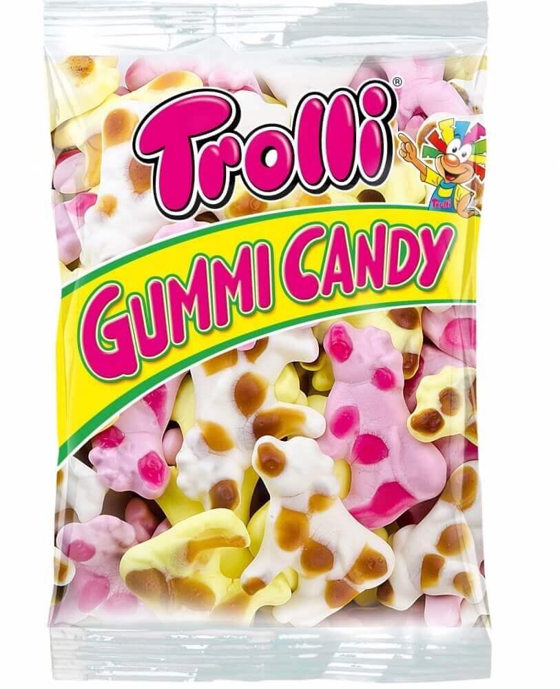 Жевательные конфеты Trolli Молочная Коровка, 1000 гр.