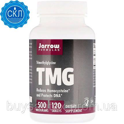 Jarrow Formulas, TMG, триметилглицин, 500 мг, 120 таблеток, фото 2