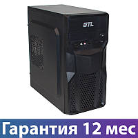 Корпус для ПК (системный блок) GTL 1602 Black, 400W, 120mm, Micro ATX / Mini ITX