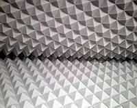 Акустический поролон «пирамида» лист 1.9х0.9м толщина 40мм серый