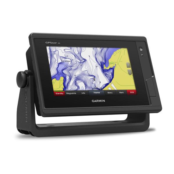 Эхолот Garmin GPSMAP 742XS трехлучевой карптлоттер, цветной сенсорный дисплей