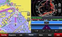Эхолот Garmin GPSMAP 742XS трехлучевой карптлоттер, цветной сенсорный дисплей, фото 5
