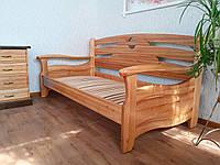 """Диван деревянный """"Луи Дюпон Люкс"""" от производителя 80х190, 7 цветов на выбор"""
