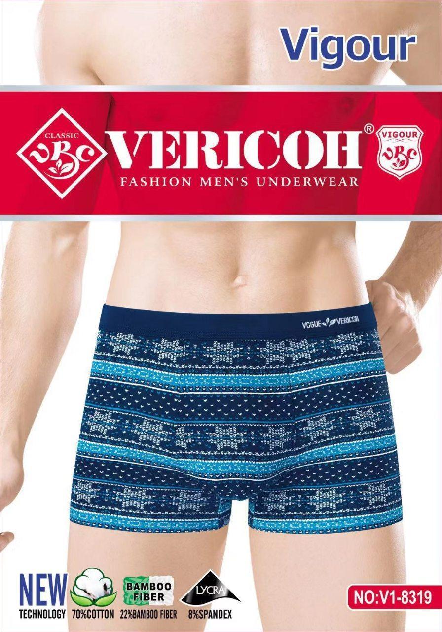 Трусы для мужчин Vericoh хлопок + бамбук орнамент