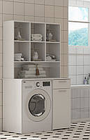 Шкаф под стиральную машину с полками, фото 5
