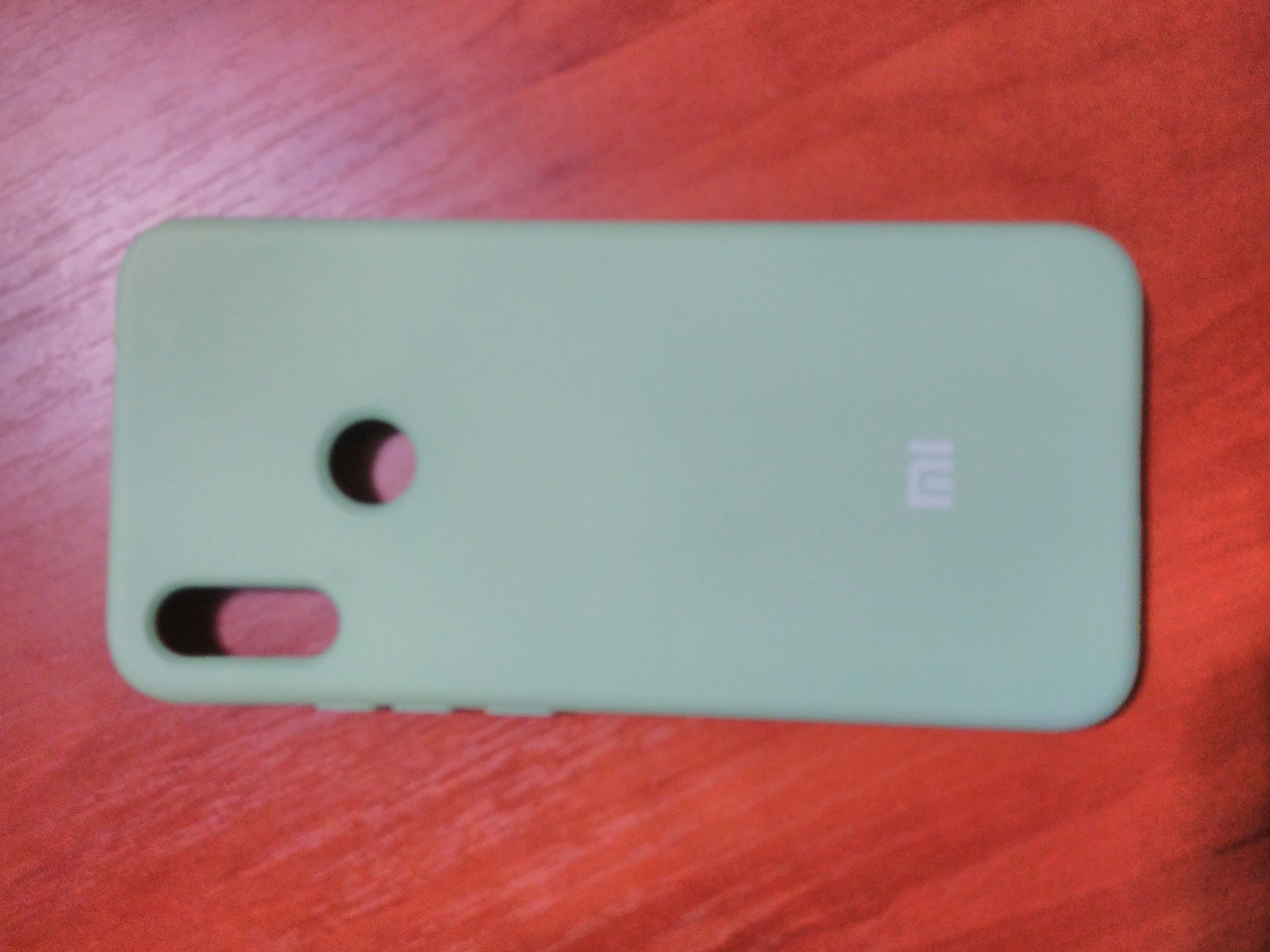 Накладка   Silicon Cover full   для  Xiaomi Redmi Note 7 / Note 7 Pro (мятный)