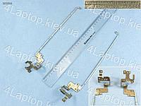 Петли Dell Inspiron 15R 5537 5537 2521 2528 3521 3537 I15rv-1667Blk (для моделей без сенсорного стекла), пара, левая+правая
