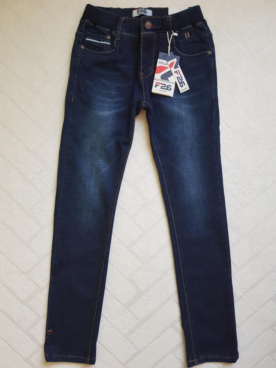 ДЖИНСОВЫЕ брюки для мальчиков .Размеры 4-12 .ПОЛЬША