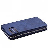 Чоловічий гаманець портмоне Baellerry S1514 blue, A420, фото 1