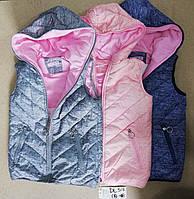 Безрукавки для девочек на флисе Taurus 8 и 12 лет