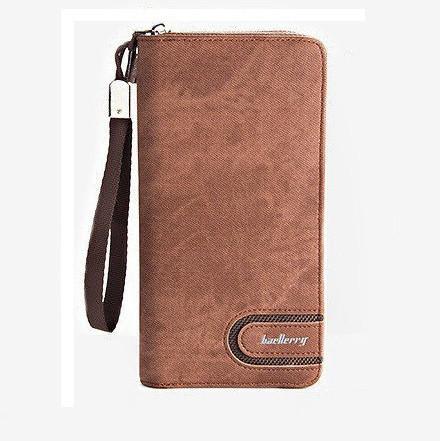 Мужской кошелек портмоне Baellerry S1514 coffe, A421