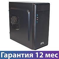 Корпус для ПК (системный блок) GTL 1609 Black, 400W, USB3.0, 120mm, Micro ATX / Mini ITX