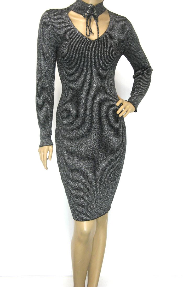 Сукня з люрексом Modeko