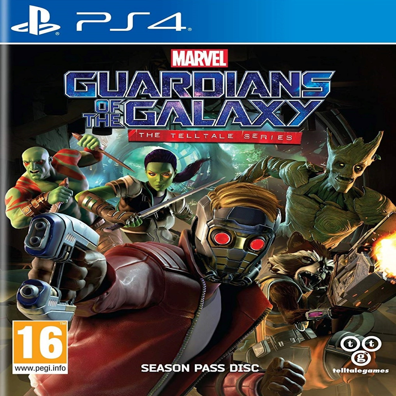 Guardian of the Galaxy the Telltale series RUS PS4 (Б/В)