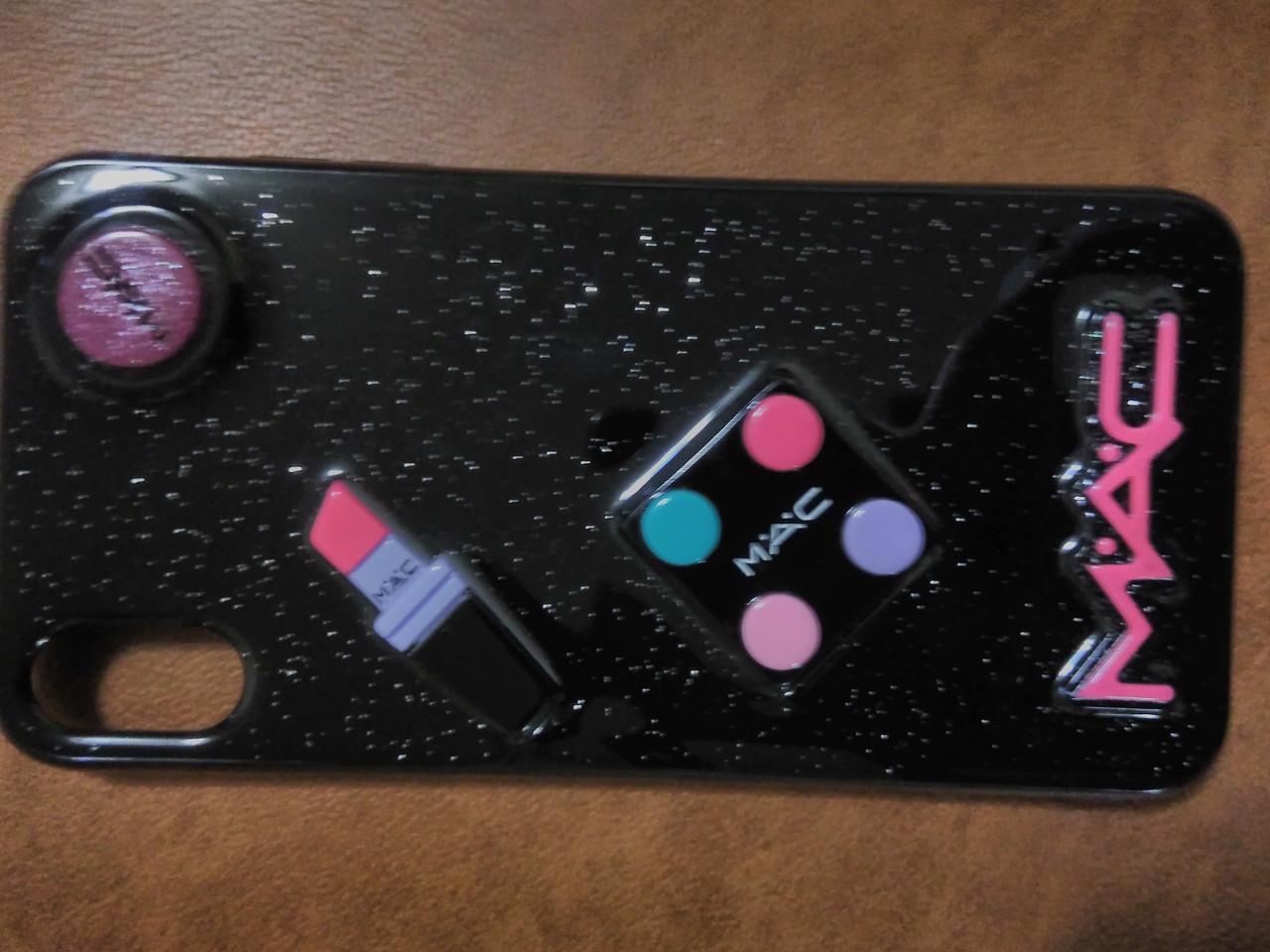 Накладка Cosmetic 3D для iPhone  XS MAX  6.5   (черный)