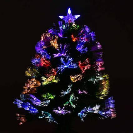 Искусственная ёлка светящаяся С 29327 (12) 60см, 55 веток