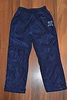 Балоневые утеплённые штаны на флисе для мальчиков,размеры 116-146 см.Фирма TAURUS.Венгрия