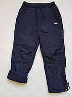 Балоневые утеплённые штаны на флисе для мальчиков,размеры 134-140 см.Фирма TAURUS.Венгрия