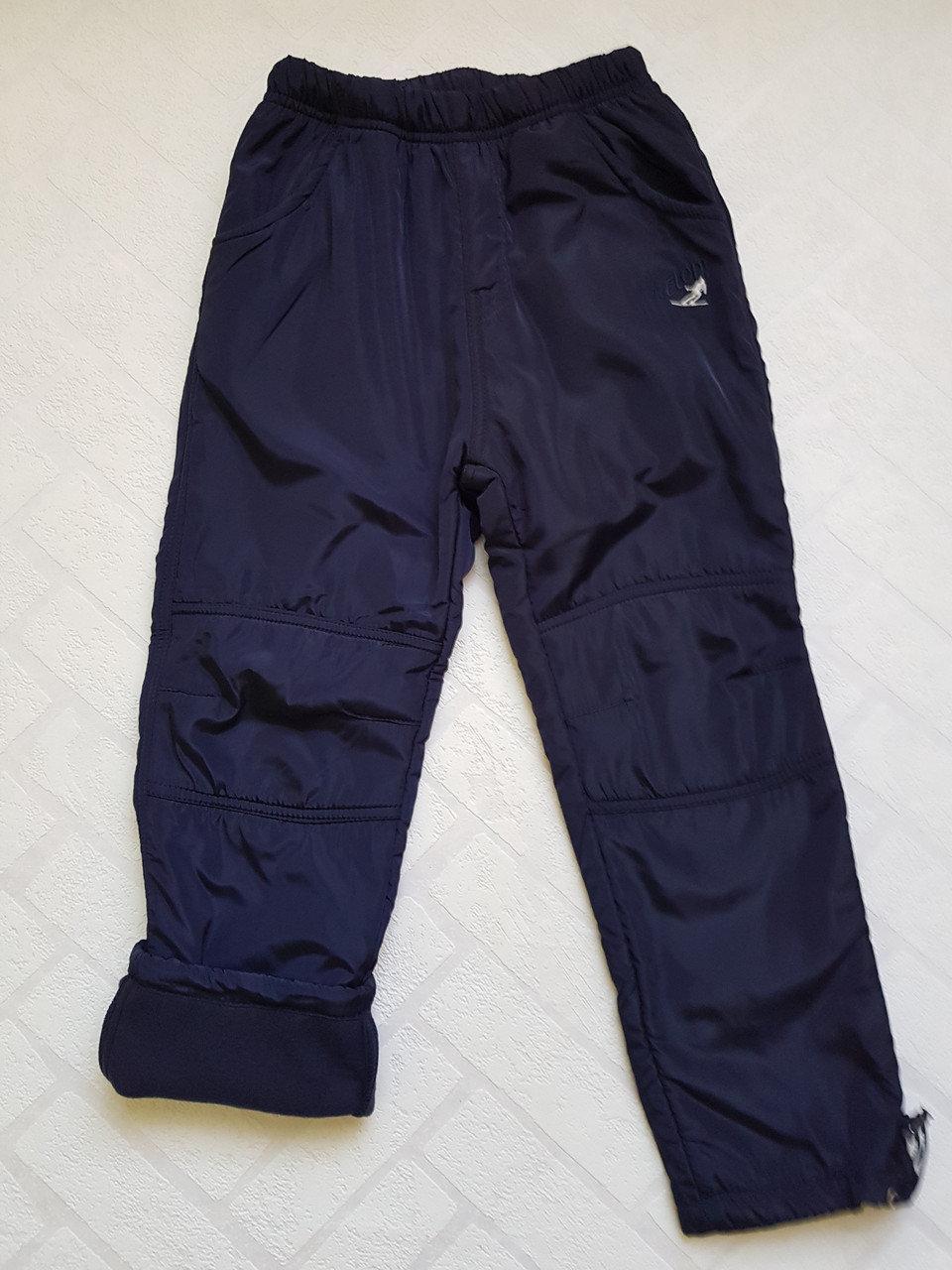 Балоневые утеплённые штаны на флисе для мальчиков,размеры 134-164 см.Фирма TAURUS.Венгрия