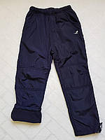 Балоневые утеплённые штаны на флисе для мальчиков,размеры 134-164 см.Фирма TAURUS.Венгрия, фото 1