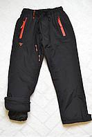 Плащёвочные,утеплённые термо-штаны на флисе для мальчиков,размеры 116-146 см.Фирма Grace.Венгрия